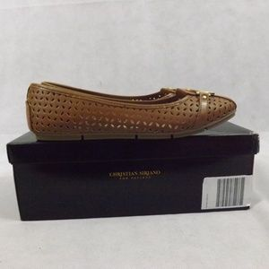 Christian Siriano Shoes - Womens CHRISTIAN SIRIANO Flats - Brown -  Sz 7.5